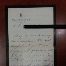 Manuscritos antiguos: ENRIQ VILLARROYA LLORENS . DIPUTADO A CORTES POR LIRIA VALENCIA 1872. Lote 176445410