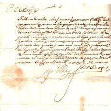 Manuscritos antiguos: FIRMA REAL CARTA CIRCULAR EN DEFENSA DEL REINO. ARANJUEZ. AÑO 1625. Lote 176886403