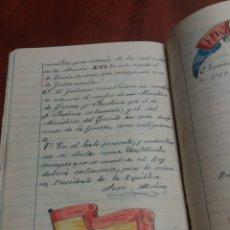 Manuscritos antiguos: LIBRETA DE ESCUELA , REPÚBLICA ESPAÑOLA.1932. Lote 176936338