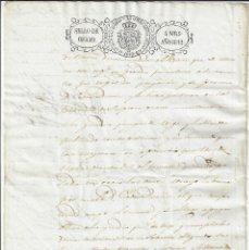 Manuscritos antiguos: SELLO 4 1842. ISABEL II. TIMBROLOGÍA PAPEL SELLADO / FISCAL . Lote 177010879