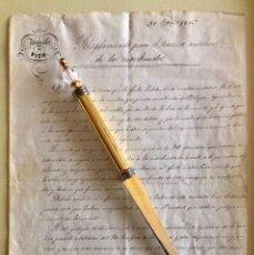 Manuscritos antiguos: VICH- TARRAGONA- OBISPADO- MANUSCRITO- REGLAMENTO PARA EL SERVICIO DE MORIBUNDOS- 1.856. Lote 177187894