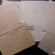 Manuscritos antiguos: CARDEDEU - TOMAS BALVEY - FRANCISCO CARRERAS CANDI - MANUSCRITOS ORIGINALES SOBRE LA IGLESIA CAPILLA. Lote 177600017