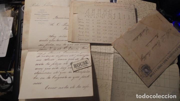 Manuscritos antiguos: CARDEDEU - FERROCARRILES - TOMAS BALBEY - MANUSCRITOS SOBRE TRAFICO DE LA ESTACION DE CARDEDEU 1899 - Foto 2 - 177600832