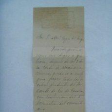 Manuscritos antiguos: AYUNTAMIENTO DE ALCALA DE GUADAIRA ( SEVILLA ), SECRETARIA : CARTA MANUSCRITA , 1915. Lote 178041662