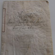 Manuscritos antiguos: ENGUERA (VALENCIA) - DIVISIÓN HIJUELA AÑO 1904, SELLOS FISCALES 10ª Y 11ª CLASE DE DOS Y TRES PTAS. Lote 178164491