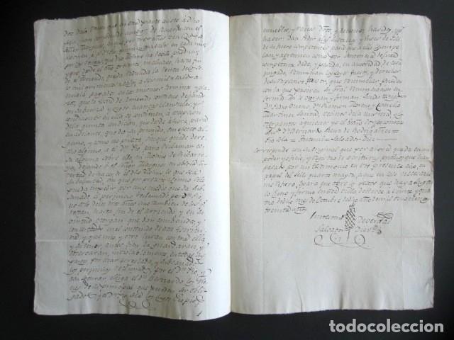 Manuscritos antiguos: AÑO 1830. HERCE, LOGROÑO. ARRENDAMIENTO DE FINCAS, HEREDADES Y EDIFICIOS. - Foto 2 - 178685757