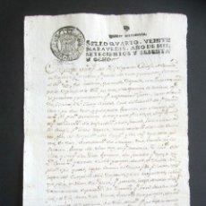 Manuscritos antiguos: AÑO 1768. MEDINA DEL CAMPO. VALLADOLID. SOBRE VISITAS DEL FIEL ALMOTACEN. FUNCIONARIO DE PESAS, ... . Lote 178686376
