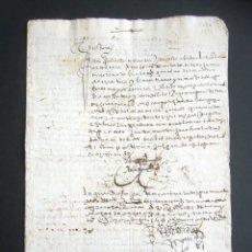 Manuscritos antiguos: AÑO 1613. GRANADA. FALLO DECLARACIONES, CUENTAS Y PAGOS. . Lote 178686498