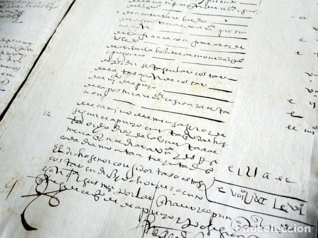 Manuscritos antiguos: AÑO 1613. GRANADA. FALLO DECLARACIONES, CUENTAS Y PAGOS. - Foto 3 - 178686498