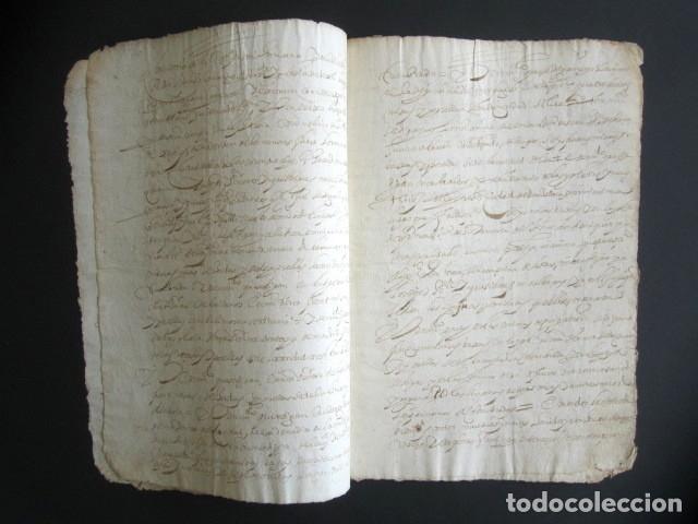 Manuscritos antiguos: AÑO 1624, TERMINO. SANTANDER. PETICIÓN COMISARIO SANTO OFICIO DE INQUISICIÓN TESTAMENTO. INQUISICIÓN - Foto 2 - 178688731