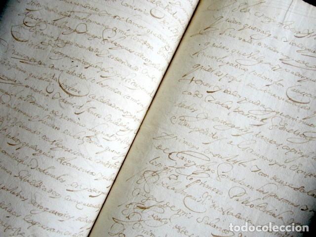 Manuscritos antiguos: AÑO 1624, TERMINO. SANTANDER. PETICIÓN COMISARIO SANTO OFICIO DE INQUISICIÓN TESTAMENTO. INQUISICIÓN - Foto 3 - 178688731