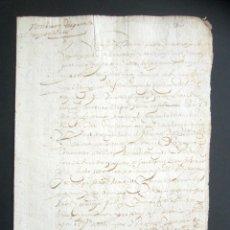 Manuscritos antiguos: AÑO 1624. TERMINO, SANTANDER. NOMBRAMIENTO DE PARTIDORES Y TAXADORES. MUERTE MARIDO, CURADORES. . Lote 178688880