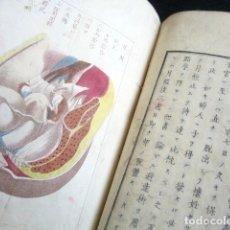 Manuscritos antiguos: ANTIGUO LIBRO ORIENTAL MANUSCRITO SOBRE EL EMBARAZO DE LA MUJER. ILUSTRADO. CHINA O JAPÓN. MUY RARO. Lote 178690376