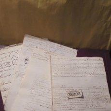 Manuscritos antiguos: ENSEÑANZA- CARDEDEU / TOMAS BALVEY - ANTIGUA LIBRETA DE MATEMATICAS MANUSCRITO S. XIX . Lote 178963648