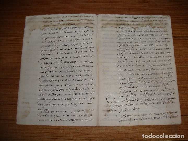 Manuscritos antiguos: PRIVILEGIOS DE CABALLERO A FAVOR DE CIUDADANOS HONRRADOS BARCELONA FERNANDO II CORTES MONZON 1510 - Foto 7 - 179084885