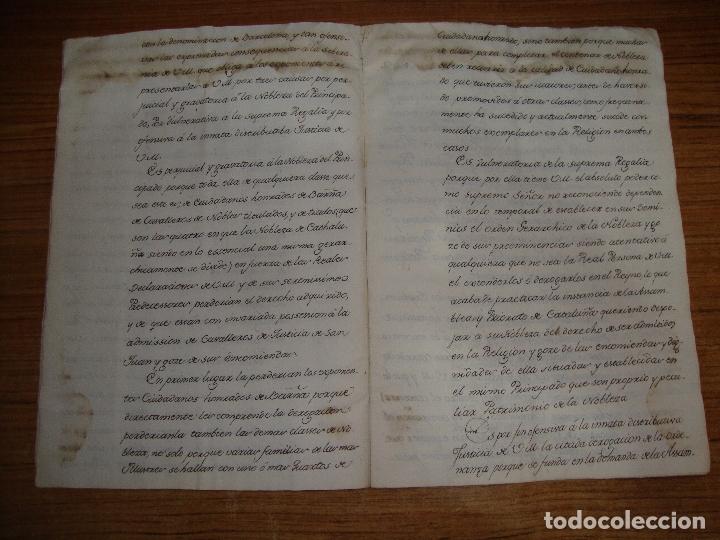 Manuscritos antiguos: PRIVILEGIOS DE CABALLERO A FAVOR DE CIUDADANOS HONRRADOS BARCELONA FERNANDO II CORTES MONZON 1510 - Foto 10 - 179084885