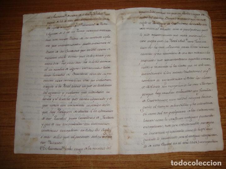 Manuscritos antiguos: PRIVILEGIOS DE CABALLERO A FAVOR DE CIUDADANOS HONRRADOS BARCELONA FERNANDO II CORTES MONZON 1510 - Foto 13 - 179084885