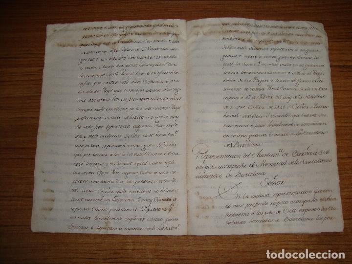 Manuscritos antiguos: PRIVILEGIOS DE CABALLERO A FAVOR DE CIUDADANOS HONRRADOS BARCELONA FERNANDO II CORTES MONZON 1510 - Foto 15 - 179084885