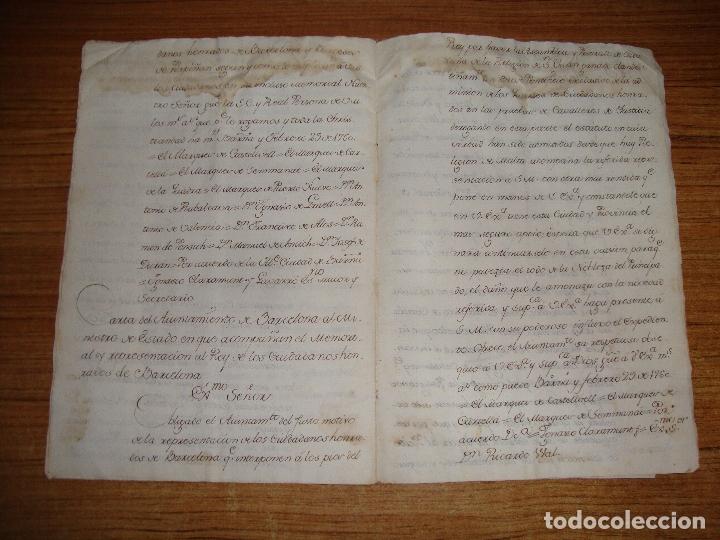 Manuscritos antiguos: PRIVILEGIOS DE CABALLERO A FAVOR DE CIUDADANOS HONRRADOS BARCELONA FERNANDO II CORTES MONZON 1510 - Foto 18 - 179084885