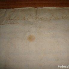 Manuscritos antiguos: PRIVILEGIOS DE CABALLERO A FAVOR DE CIUDADANOS HONRRADOS BARCELONA FERNANDO II CORTES MONZON 1510. Lote 179084885