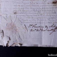 Manuscritos antiguos: ESCRITO CONTRA EL CAPITÁN REFORMADO FERNANDO GIL. MADRID 1773. Lote 179179938