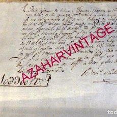 Manuscritos antiguos: SEPULVEDA, SEGOVIA, 1814, RECIBO DE RENTAS POR VALOR DE 10390 REALES. Lote 179233496