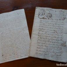 Manuscritos antiguos: CÁDIZ, ARQUITECTO CATEDRAL TORCUATO CAYÓN TRANSACCIÓN TORRE C/ MURGUÍA, PLAZA SAN ANTONIO. Lote 180181465