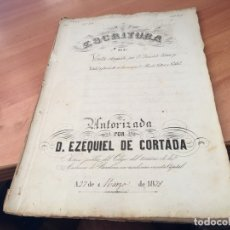 Manuscritos antiguos: ESCRITUTA DE VENTA MANUSCRITA 1879 BARCELONA (AB-1). Lote 180496148