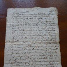 Manuscritos antiguos: VILLAFRANCA, NAVARRA,VENTA DE UNA VIÑA, 1616, 7 PAGS. Lote 181412390