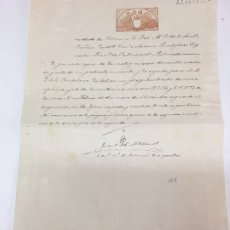 Manuscritos antiguos: PAPEL SELLADO DE 1902, , 1907, 1907 Y 1907. Lote 181426640