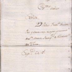 Manuscritos antiguos: PAPELES DE PEDRO FRANCISCO DE RIOJA, SACRISTÁN MAYOR DE SANTA MARÍA DE ALCÁZAR DE SAN JUAN, C. REAL. Lote 181435960