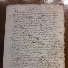 Manuscritos antiguos: DIEZMOS SIGLO XVI. Lote 181716835