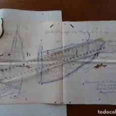 Manuscritos antiguos: NAVARRA, IMAZ, EXPEDIENTE PARA DERRUIR UNA CASETA DE RIEGO EN EL CAUCE DEL RÍO MAYOR, 1884, 16 PAGS. Lote 182081032