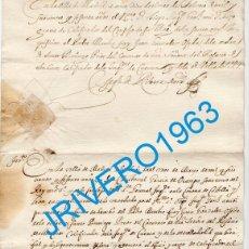 Manuscritos antiguos: 1660, TOMA JURAMENTO CALIFICADOR SANTA INQUISICION, FIRMA SECRETARIO DEL REY. Lote 182096017