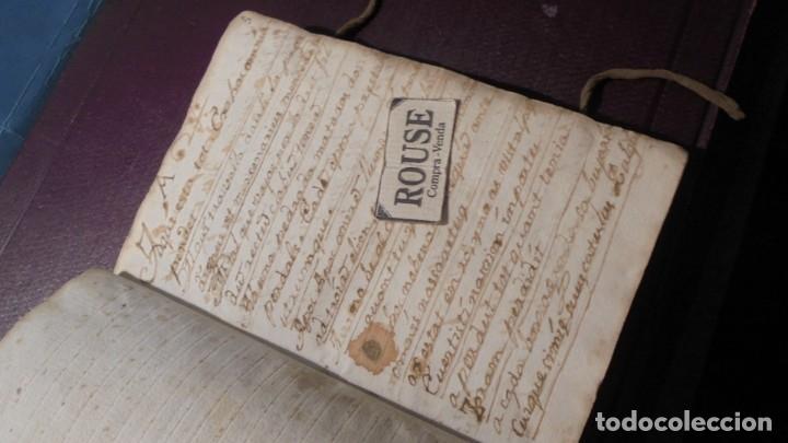 ANTIGUO LIBRO MANUSCRITO , MEMORIAS REMEYS ....... 170 PAG. PRINCIPIO S. XIX AÑOTACIONES DE 1810 - (Coleccionismo - Documentos - Manuscritos)