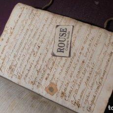 Manuscritos antiguos: ANTIGUO LIBRO MANUSCRITO , MEMORIAS REMEYS ....... 170 PAG. PRINCIPIO S. XIX AÑOTACIONES DE 1810 - . Lote 182158576