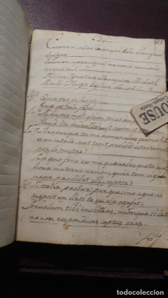 Manuscritos antiguos: ANTIGUO LIBRO MANUSCRITO , MEMORIAS REMEYS ....... 170 PAG. PRINCIPIO S. XIX AÑOTACIONES DE 1810 - - Foto 12 - 182158576