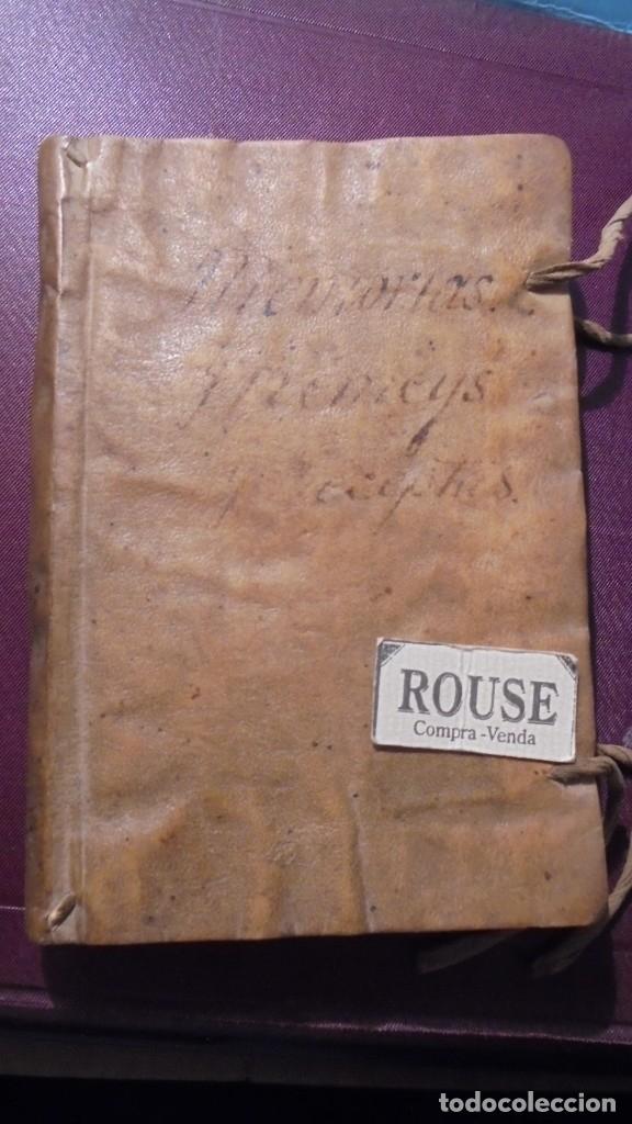 Manuscritos antiguos: ANTIGUO LIBRO MANUSCRITO , MEMORIAS REMEYS ....... 170 PAG. PRINCIPIO S. XIX AÑOTACIONES DE 1810 - - Foto 16 - 182158576