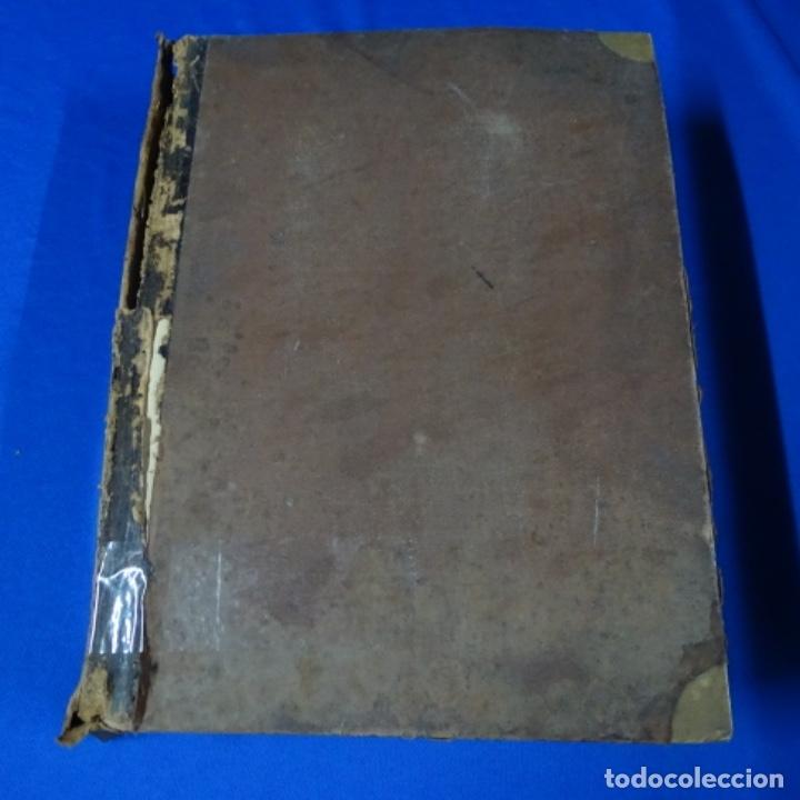 LIBRO MANUSCRITO S.XIX.TEORIA DE LOS TEJIDOS.OBRA EXCEPCIONAL DE AÑOS DE TRABAJO. (Coleccionismo - Documentos - Manuscritos)