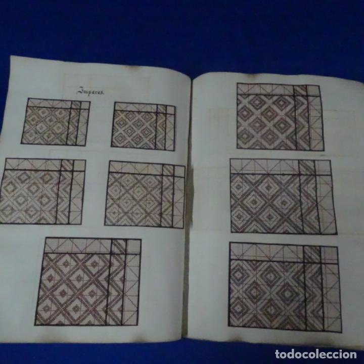 Manuscritos antiguos: Libro Manuscrito s.xix.teoria de los tejidos.obra excepcional de años de trabajo. - Foto 9 - 182331086