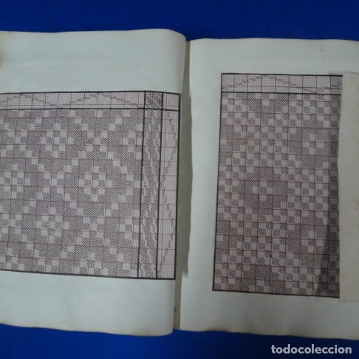 Manuscritos antiguos: Libro Manuscrito s.xix.teoria de los tejidos.obra excepcional de años de trabajo. - Foto 20 - 182331086
