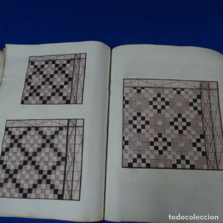 Manuscritos antiguos: Libro Manuscrito s.xix.teoria de los tejidos.obra excepcional de años de trabajo. - Foto 21 - 182331086