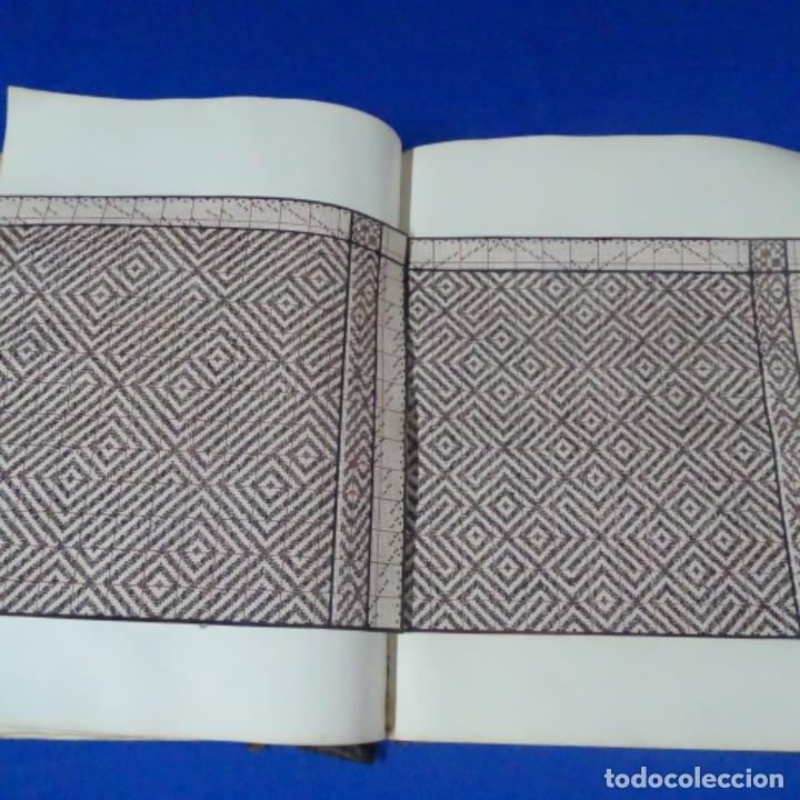 Manuscritos antiguos: Libro Manuscrito s.xix.teoria de los tejidos.obra excepcional de años de trabajo. - Foto 30 - 182331086