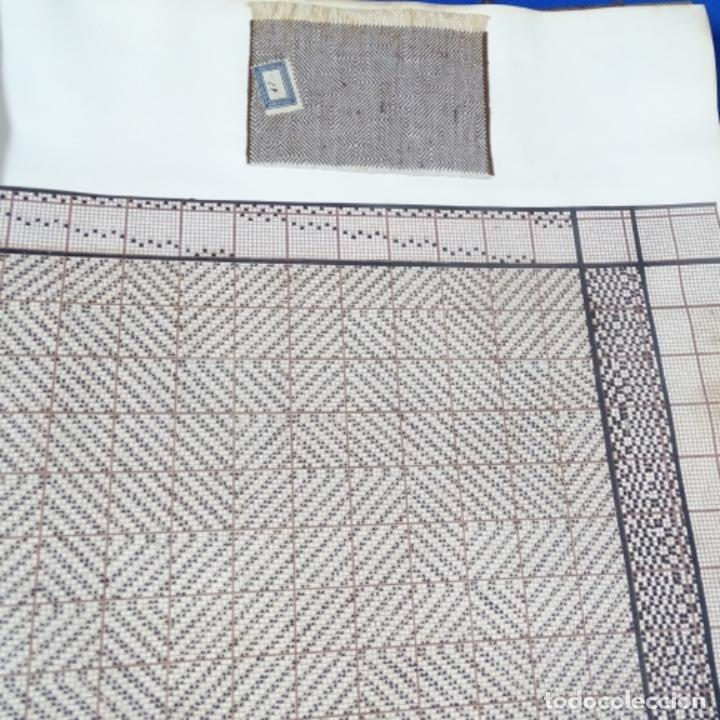 Manuscritos antiguos: Libro Manuscrito s.xix.teoria de los tejidos.obra excepcional de años de trabajo. - Foto 43 - 182331086