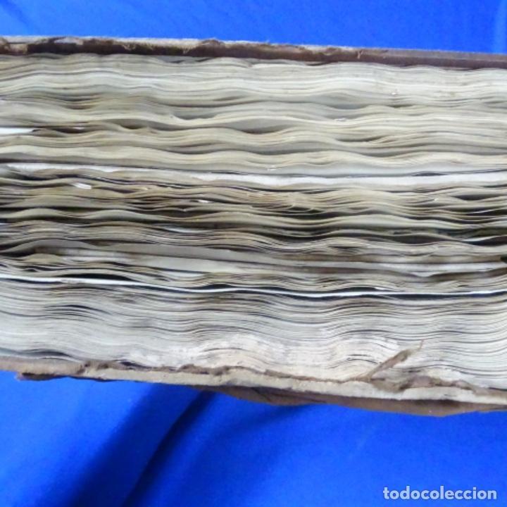 Manuscritos antiguos: Libro Manuscrito s.xix.teoria de los tejidos.obra excepcional de años de trabajo. - Foto 46 - 182331086