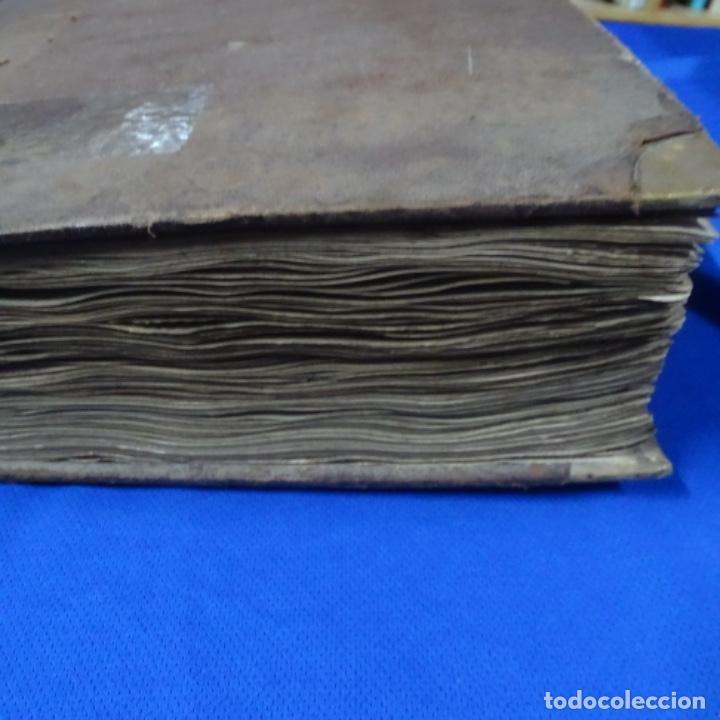 Manuscritos antiguos: Libro Manuscrito s.xix.teoria de los tejidos.obra excepcional de años de trabajo. - Foto 47 - 182331086