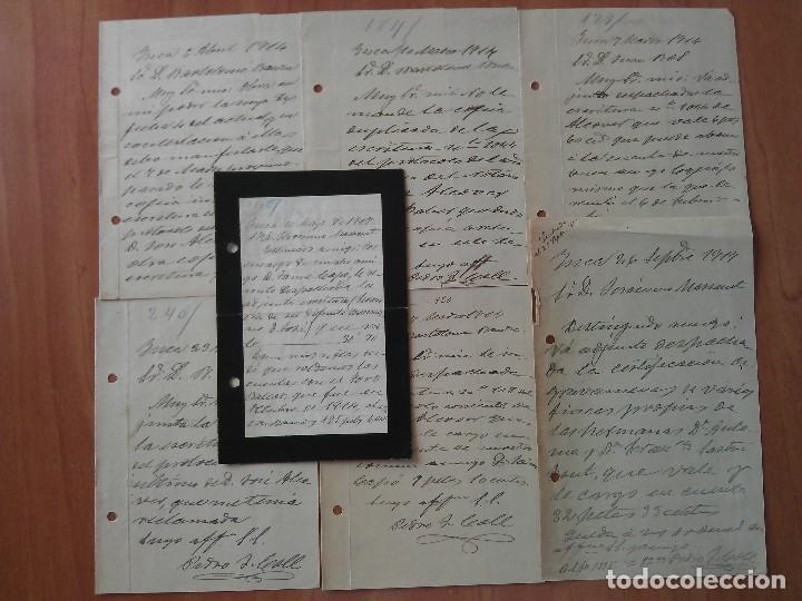 1914 - 1917 SIETE CARTAS ESCRITAS EN INCA - MALLORCA (Coleccionismo - Documentos - Manuscritos)