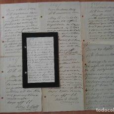 Manuscritos antiguos: 1914 - 1917 SIETE CARTAS ESCRITAS EN INCA - MALLORCA. Lote 182344327