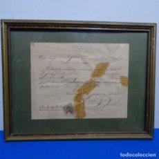 Manuscritos antiguos: RECIBO MANUSCRITO DE 1895. Lote 182544875