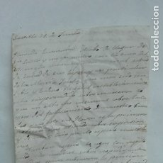 Manuscritos antiguos: CARTA MANUSCRITA, SEVILLA 1829. SIGO XIX. Lote 182807160